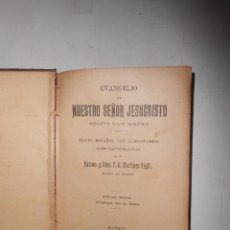 Libros antiguos: EVANGELIO DE NUESTRO SEÑOR JESUCRISTO SEGUN SAN MATEO MADRID 1903 LIBRERIA CATOLICA DE AMO. Lote 53634677