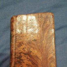 Libros antiguos: 1821. OFICIO DE LA SEMANA SANTA SEGUN EL MISAL Y BREVIARIO ROMANOS. Lote 53716996