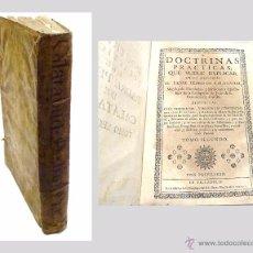 Libros antiguos: P.PEDRO DE CALATAYUD- DOCTRINAS PRACTICAS QUE SUELE EXPLICAR EN SUS MISIONES TOMO II- AÑO 1.745. Lote 53732089