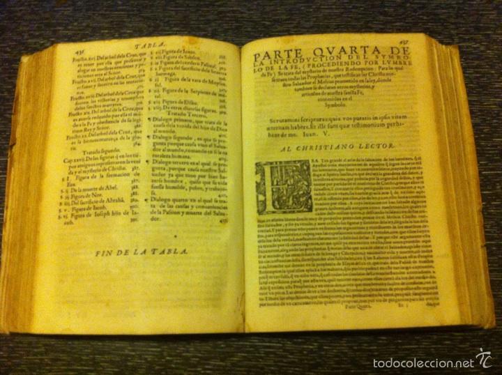 Libros antiguos: ANTIGUO LIBRO INTRODVCTION DEL SIMBOLO DE LA FE - FRAY LUIS DE GRANADA, EDICION DE 1603, PIEZA UNICA - Foto 5 - 53736759