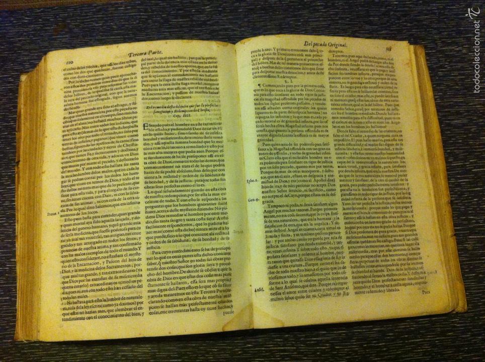 Libros antiguos: ANTIGUO LIBRO INTRODVCTION DEL SIMBOLO DE LA FE - FRAY LUIS DE GRANADA, EDICION DE 1603, PIEZA UNICA - Foto 6 - 53736759