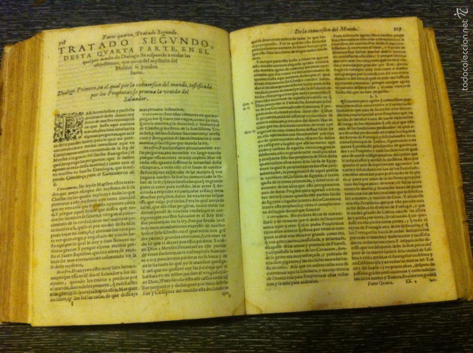 Libros antiguos: ANTIGUO LIBRO INTRODVCTION DEL SIMBOLO DE LA FE - FRAY LUIS DE GRANADA, EDICION DE 1603, PIEZA UNICA - Foto 8 - 53736759