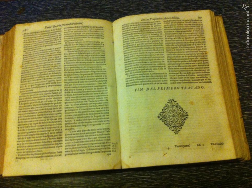 Libros antiguos: ANTIGUO LIBRO INTRODVCTION DEL SIMBOLO DE LA FE - FRAY LUIS DE GRANADA, EDICION DE 1603, PIEZA UNICA - Foto 9 - 53736759