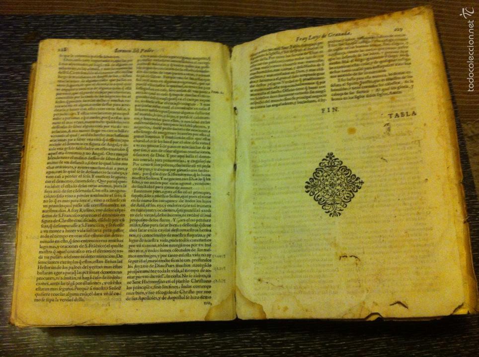 Libros antiguos: ANTIGUO LIBRO INTRODVCTION DEL SIMBOLO DE LA FE - FRAY LUIS DE GRANADA, EDICION DE 1603, PIEZA UNICA - Foto 12 - 53736759