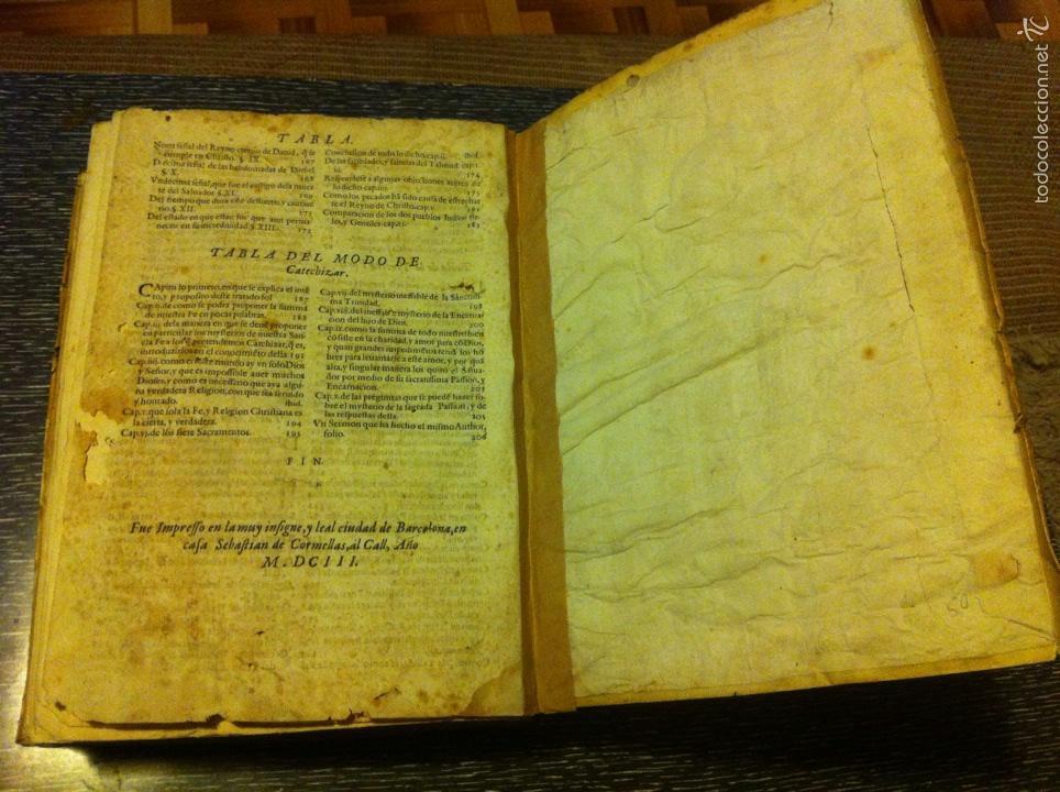 Libros antiguos: ANTIGUO LIBRO INTRODVCTION DEL SIMBOLO DE LA FE - FRAY LUIS DE GRANADA, EDICION DE 1603, PIEZA UNICA - Foto 13 - 53736759