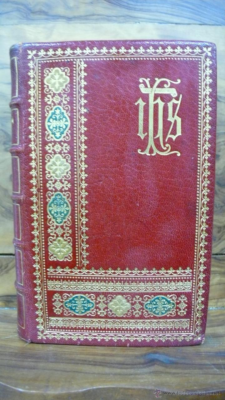 Libros antiguos: BREVIARIUM ROMANUM EX DECRETO SS. CONCILII TRIDENTINI... 4 OBRAS EN 1 VOL. 1891. - Foto 2 - 53746646