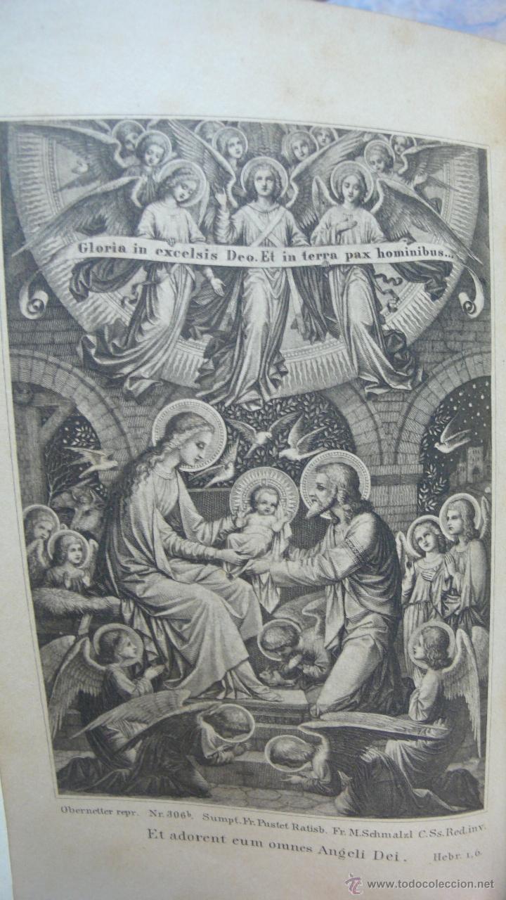 Libros antiguos: BREVIARIUM ROMANUM EX DECRETO SS. CONCILII TRIDENTINI... 4 OBRAS EN 1 VOL. 1891. - Foto 4 - 53746646
