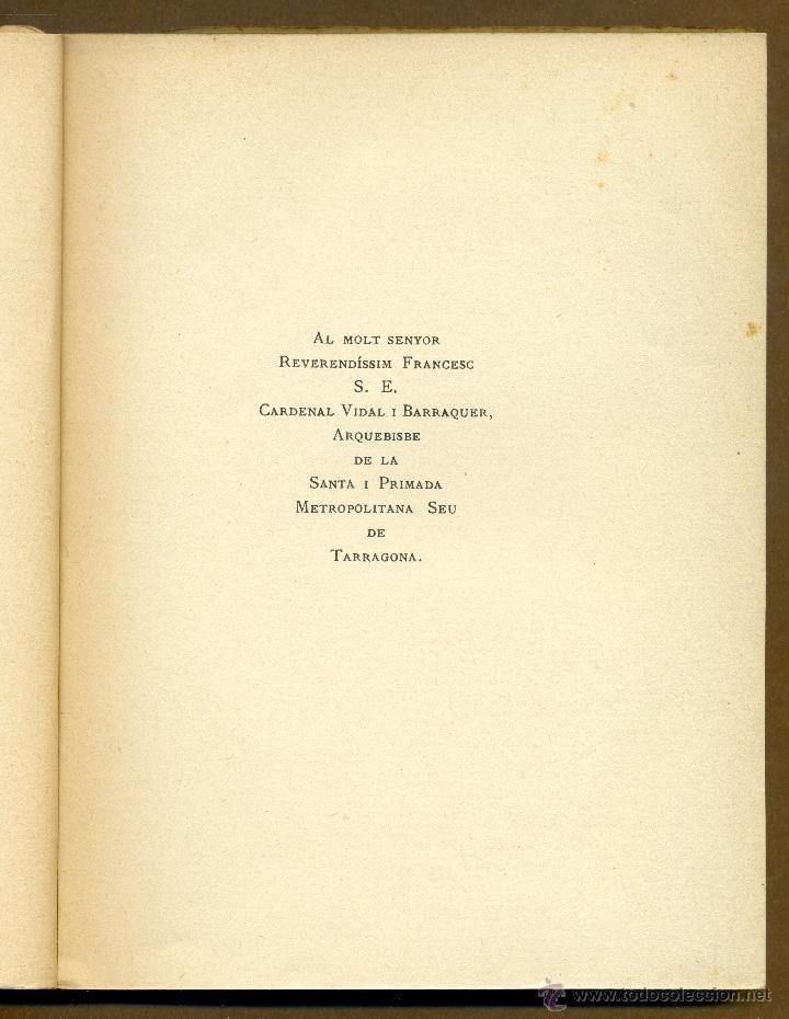 Libros antiguos: EL PAS DE SANT FRANCESC - LLUIS BERTRAN I PIJOAN 1928 - Foto 2 - 53779252