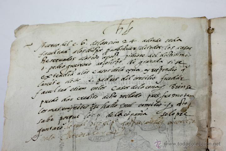Libros antiguos: concilio de tento, canones et decreta sacrosancti, granatae, granada. Año 1564. 15x21 cm. - Foto 6 - 53783483