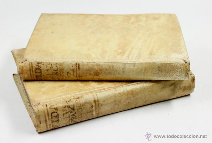 ADMIRABLE VIDA DEL PADRE FRANCISCO DE GERONYMO, COMP. DE JESÚS, 2 TOMOS. MADRID 1758 (Libros Antiguos, Raros y Curiosos - Religión)
