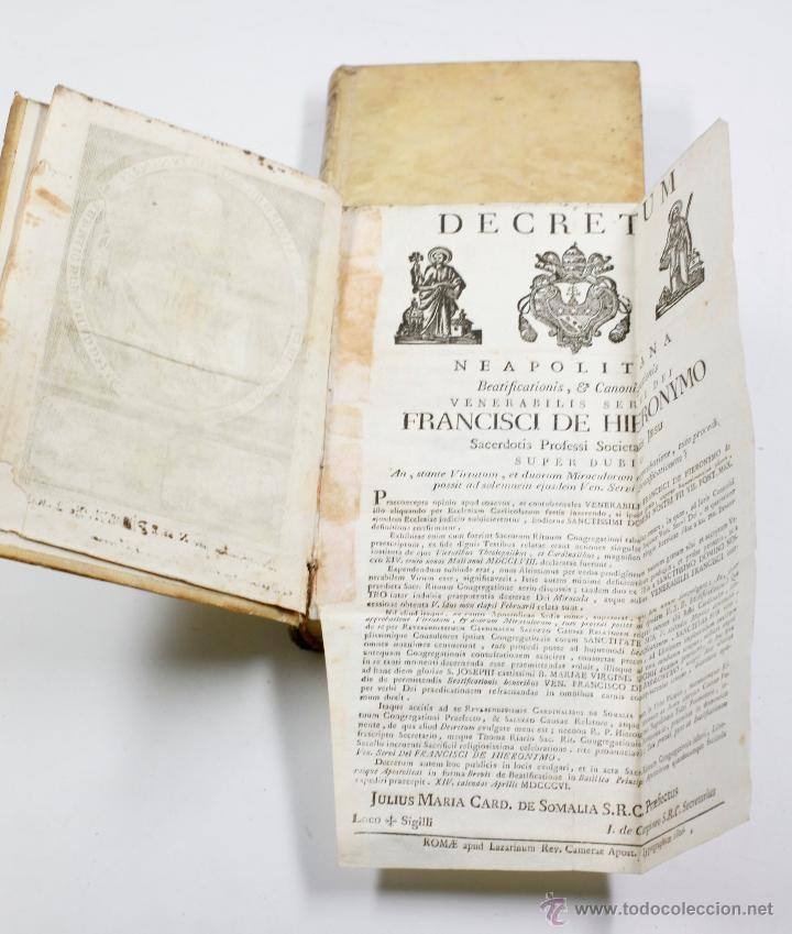 Libros antiguos: ADMIRABLE VIDA DEL PADRE FRANCISCO DE GERONYMO, COMP. DE JESÚS, 2 TOMOS. MADRID 1758 - Foto 3 - 53797600
