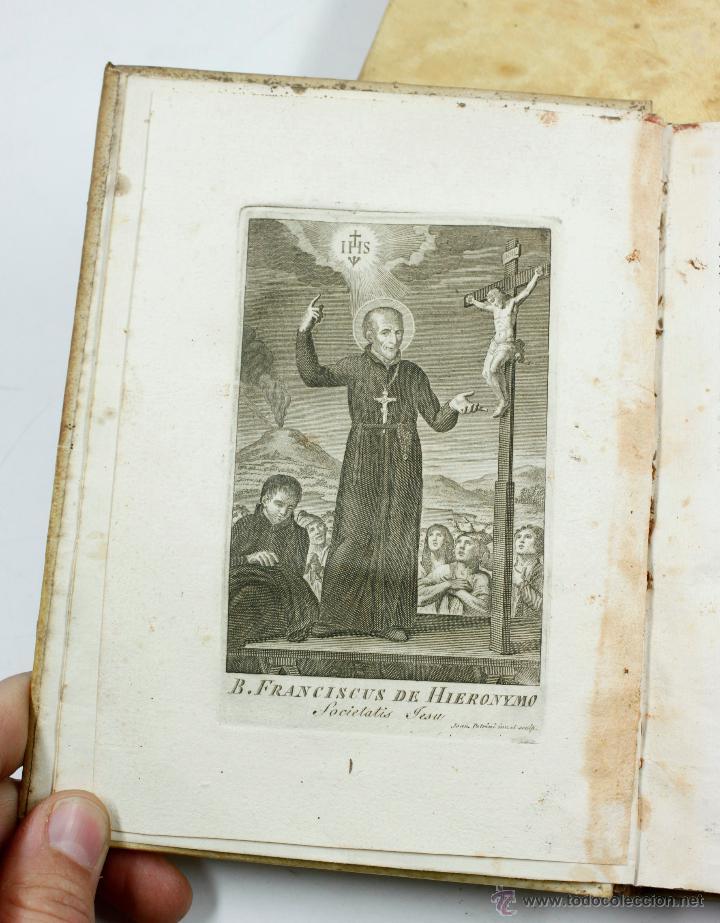 Libros antiguos: ADMIRABLE VIDA DEL PADRE FRANCISCO DE GERONYMO, COMP. DE JESÚS, 2 TOMOS. MADRID 1758 - Foto 7 - 53797600