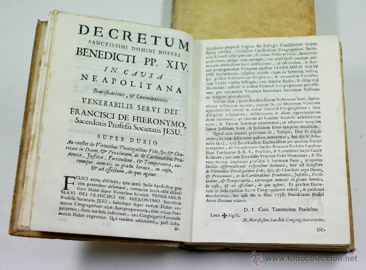 Libros antiguos: ADMIRABLE VIDA DEL PADRE FRANCISCO DE GERONYMO, COMP. DE JESÚS, 2 TOMOS. MADRID 1758 - Foto 9 - 53797600