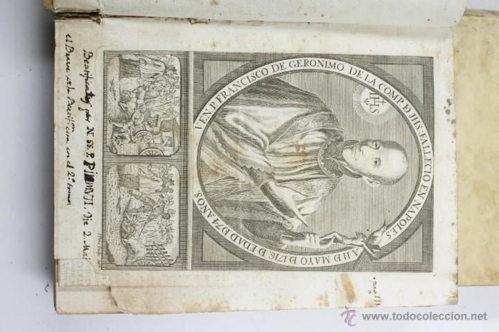 Libros antiguos: ADMIRABLE VIDA DEL PADRE FRANCISCO DE GERONYMO, COMP. DE JESÚS, 2 TOMOS. MADRID 1758 - Foto 11 - 53797600
