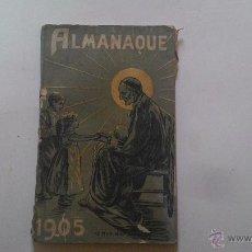 Libros antiguos: ALMANAQUE DE LAS CONFERENCIAS DE SAN VICENTE DE PAUL. Lote 53977282