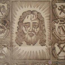 Libros antiguos: GOIG DEL SIGLO XVIII DEDICADO AL SANTÍSIMO ROSTRO DE CRISTO. MANRESA. FOLIO. Lote 54054640