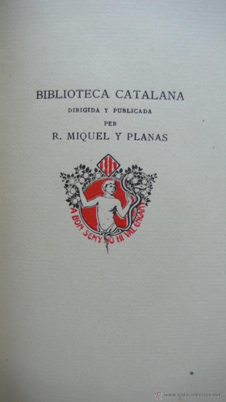 Libros antiguos: LLIBRE ANOMENAT VITA CHRISTI. SOR ISABEL DE VILLENA. R. MIQUEL Y PLANAS. 1916. PRIMER VOLUM. - Foto 3 - 54059405