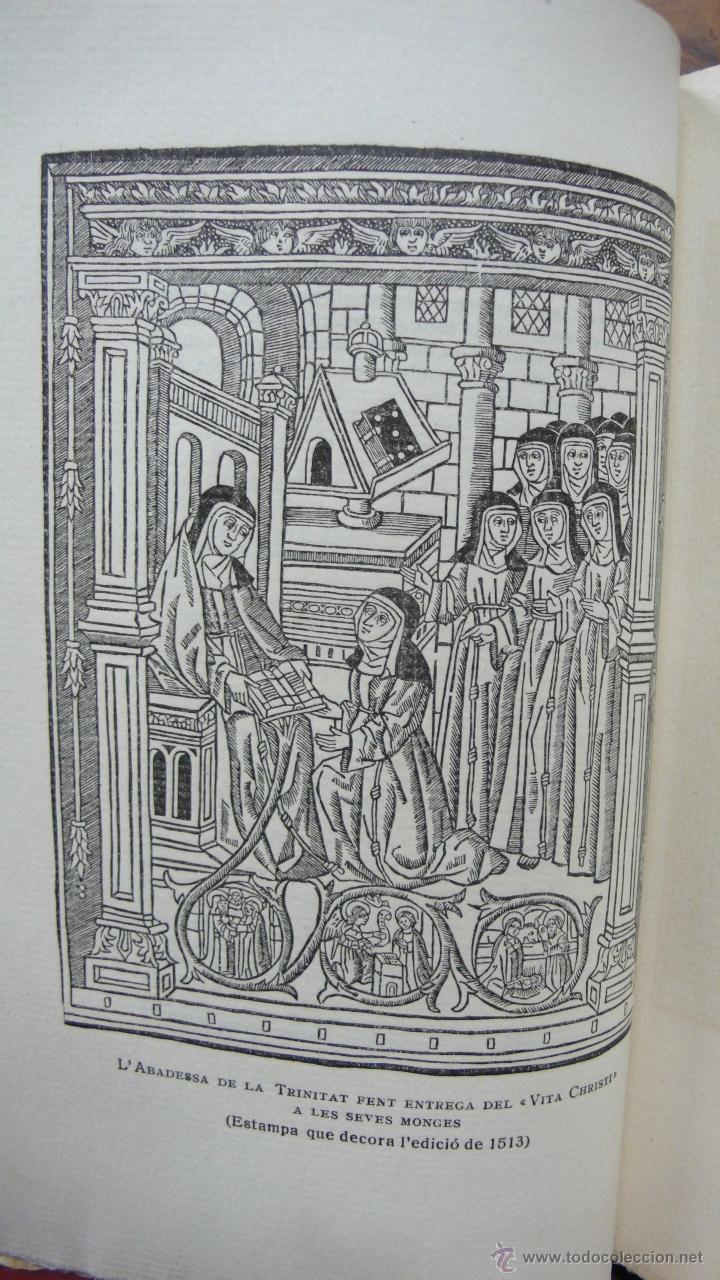 Libros antiguos: LLIBRE ANOMENAT VITA CHRISTI. SOR ISABEL DE VILLENA. R. MIQUEL Y PLANAS. 1916. PRIMER VOLUM. - Foto 4 - 54059405