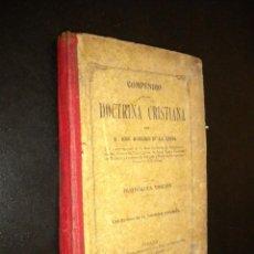 Libros antiguos: COMPENDIO DE LA DOCTRINA CRISTIANA / JOSE RODRIGO DE LA CERDA / 1920. Lote 54072557