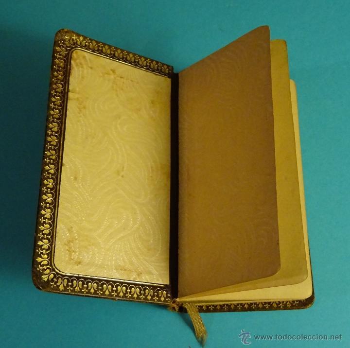 Libros antiguos: DIAMANTE CELESTIAL, NOVÍSIMO DEVOCIONARIO ESCOGIDO. BERNADÁS Y MIR, EDITORES. PIEL. CORTES DORADOS - Foto 4 - 54251856
