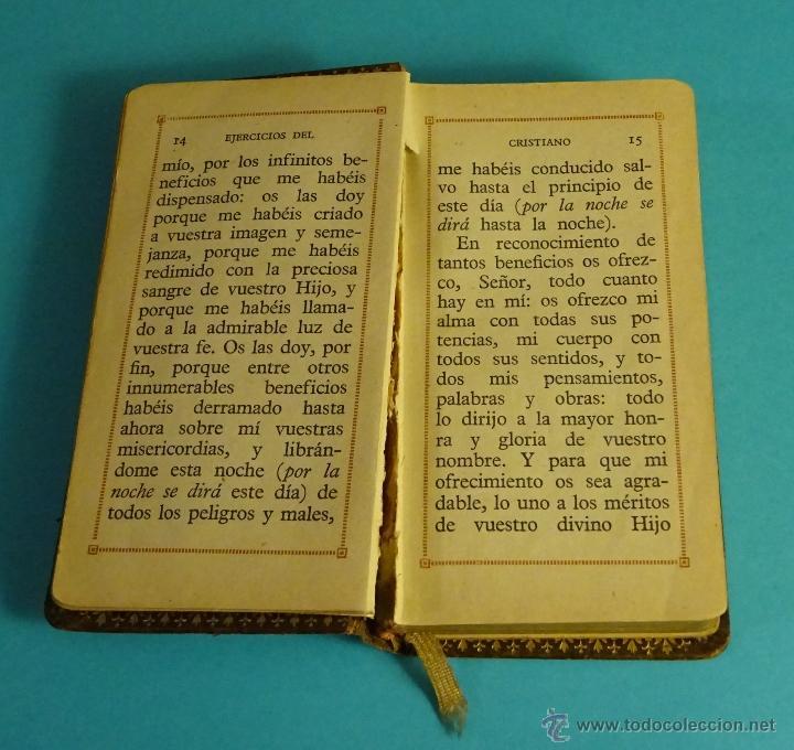 Libros antiguos: DIAMANTE CELESTIAL, NOVÍSIMO DEVOCIONARIO ESCOGIDO. BERNADÁS Y MIR, EDITORES. PIEL. CORTES DORADOS - Foto 5 - 54251856