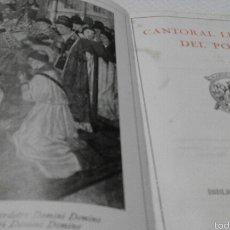 Libros antiguos: CANTORAL LITÚRGIC DEL POBLE - EDICIÓN 1920. Lote 54594283