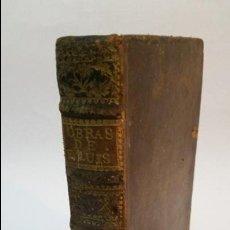 Libros antiguos: 1757 - FRAY LUIS DE GRANADA - TOMO X. EL SÍMBOLO DE LA FÉ (PARTES TERCERA Y CUARTA) -. Lote 54676025