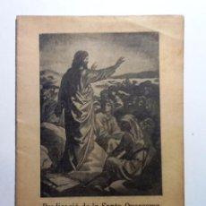 Libros antiguos: PREDICACION DE LA SANTA QUARESMA EN LA CATEDRAL BASILICA DE BARCELONA 1922. Lote 54711069