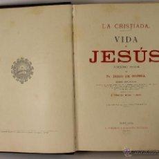 Libros antiguos: 6550 - LA CRISTÍADA VIDA DE JESÚS. DIEGO DE HOJEDA. EDIT. GONZÁLEZ Y COMPAÑIA. 1896.. Lote 49788173