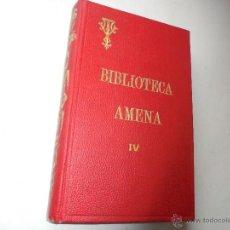Libros antiguos: OBRAS AMENAS DEL P. VÍCTOR VAN TRICH-S/F- BILBAO-IMPRENTA DEL CORAZÓN-BIBLIOTECA AMENA IV. Lote 54807327