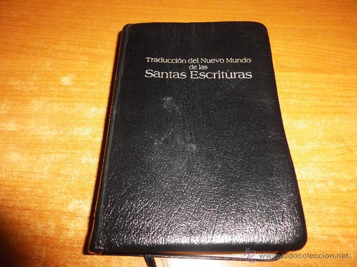 BIBLIA TESTIGOS DE JEHOVA TRADUCCION DEL NUEVO MUNDO WATCHTOWER EDICIÓN LUJO BOLSILLO (Libros Antiguos, Raros y Curiosos - Religión)