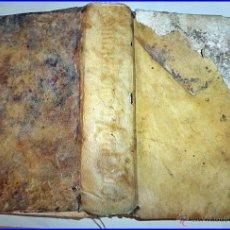 Libros antiguos: AÑO AÑO 1588. LIBRO DE BARTOLOMÉ DE MEDINA, DE VALLADOLID. EN PERGAMINO, SIGLO XVI.. Lote 54878444
