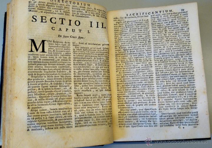 Libros antiguos: BIBLIOFILOS,RARISIMO LIBRO SOBRE LA LITURGIA DE LA MISA,SIGLO XVIII,AÑO1732,UNICO EN VENTA EN ESPAÑA - Foto 4 - 54912909