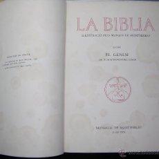 Libros antiguos: LA BIBLIA IL-LUSTRACIO PELS MONJOS DE MONTESERRAT XXIII-I EL GENESIS AÑO 1929. Lote 54996067