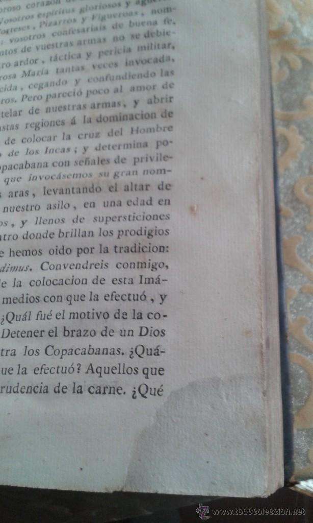 Libros antiguos: SERMONES PANEGÍRICOS DE VARIOS MISTERIOS FESTIVIDADES Y SANTOS .GARCÍA TOMO II 1.804 - Foto 8 - 55031916