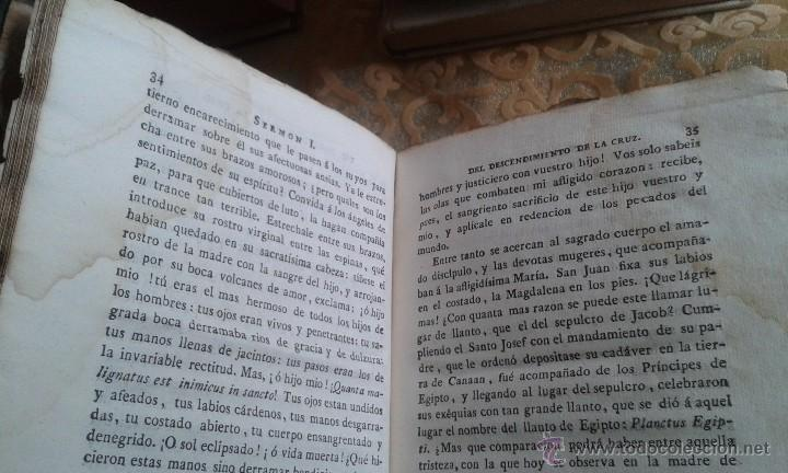 Libros antiguos: SERMONES PANEGÍRICOS DE VARIOS MISTERIOS FESTIVIDADES Y SANTOS .GARCÍA TOMO II 1.804 - Foto 9 - 55031916