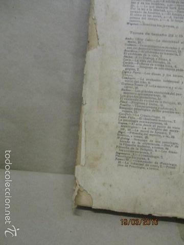 Libros antiguos: EL CONTENIDO DE VERDAD EN LA RELIGIÓN - RUDOLF EUCKEN - Año 1925 - Foto 5 - 55145509