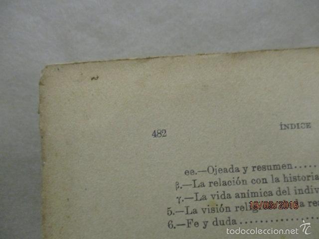 Libros antiguos: EL CONTENIDO DE VERDAD EN LA RELIGIÓN - RUDOLF EUCKEN - Año 1925 - Foto 12 - 55145509