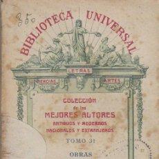 Libros antiguos: SANTA TERESA: CONCEPTOS DEL AMOR DE DIOS, EXCLAMACIONES, CARTAS Y POESIAS, AÑO 1919. Lote 55337849