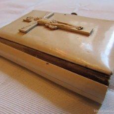 Libros antiguos: ANTIGUO Y CURIOSO MISAL - DEVOCIONARIO 1896 (120 AÑOS -) - EL ÁNGEL DE LA INFANCIA - MILAN G. MAURI. Lote 55778729