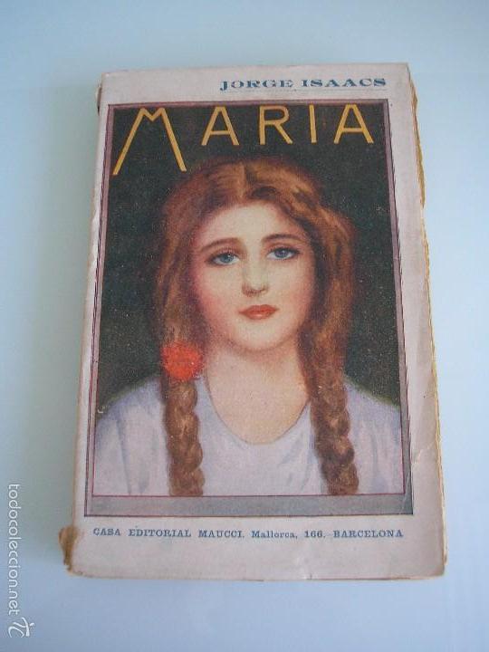 maría - novela americana - jorge isaacs - casa - Comprar Libros antiguos de religión en todocoleccion - 55779222