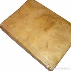 Libros antiguos: LIBRO ANTIGUO DE PERGAMINO AÑO M.DCC.XCIX. Lote 111474614