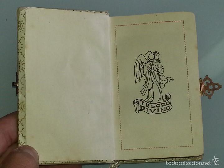 Libros antiguos: ANTIGUO DEVOCIONARIO TAPAS DE NACAR TESORO DIVINO MISA POR J.A DE LAVALLE EDITORIAL VALLES AÑO 1927 - Foto 8 - 55918045