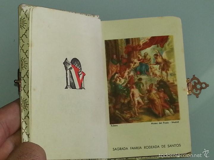 Libros antiguos: ANTIGUO DEVOCIONARIO TAPAS DE NACAR TESORO DIVINO MISA POR J.A DE LAVALLE EDITORIAL VALLES AÑO 1927 - Foto 9 - 55918045
