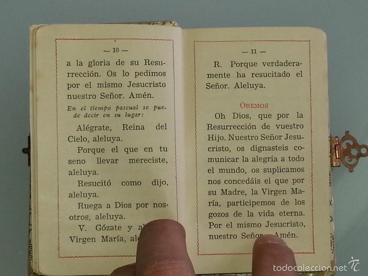 Libros antiguos: ANTIGUO DEVOCIONARIO TAPAS DE NACAR TESORO DIVINO MISA POR J.A DE LAVALLE EDITORIAL VALLES AÑO 1927 - Foto 12 - 55918045