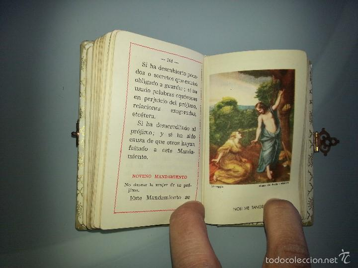 Libros antiguos: ANTIGUO DEVOCIONARIO TAPAS DE NACAR TESORO DIVINO MISA POR J.A DE LAVALLE EDITORIAL VALLES AÑO 1927 - Foto 14 - 55918045