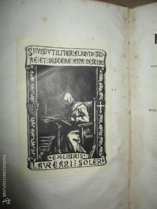 Libros antiguos: HISTORIA UNIVERSAL DE LA IGLESIA TOMO 2 JUAN ALZOG AÑO 1852 (ver fotos) - Foto 7 - 56051186