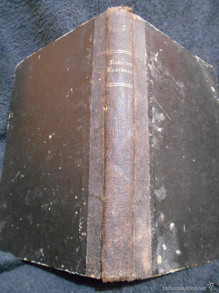 Libros antiguos: Le Noveau Testament de Notre Seigneur Jésus-Christ, d'après la versión revue par J.F. Ostervald 1856 - Foto 2 - 56243470