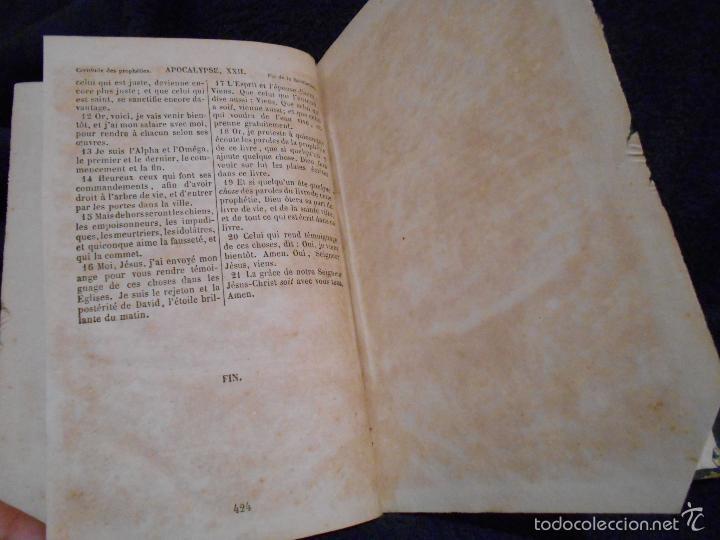 Libros antiguos: Le Noveau Testament de Notre Seigneur Jésus-Christ, d'après la versión revue par J.F. Ostervald 1856 - Foto 5 - 56243470