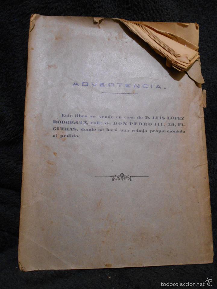 Libros antiguos: Parábolas y Milagros de Jesucristo. Publicado por L.L.R. [Luis López Rodríguez] Figueras, 1900. - Foto 2 - 56243877